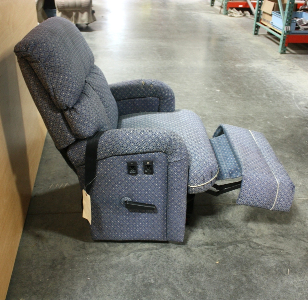 USED MOTORHOME BLUE CLOTH RECLINER FOR SALE : cloth recliners - islam-shia.org