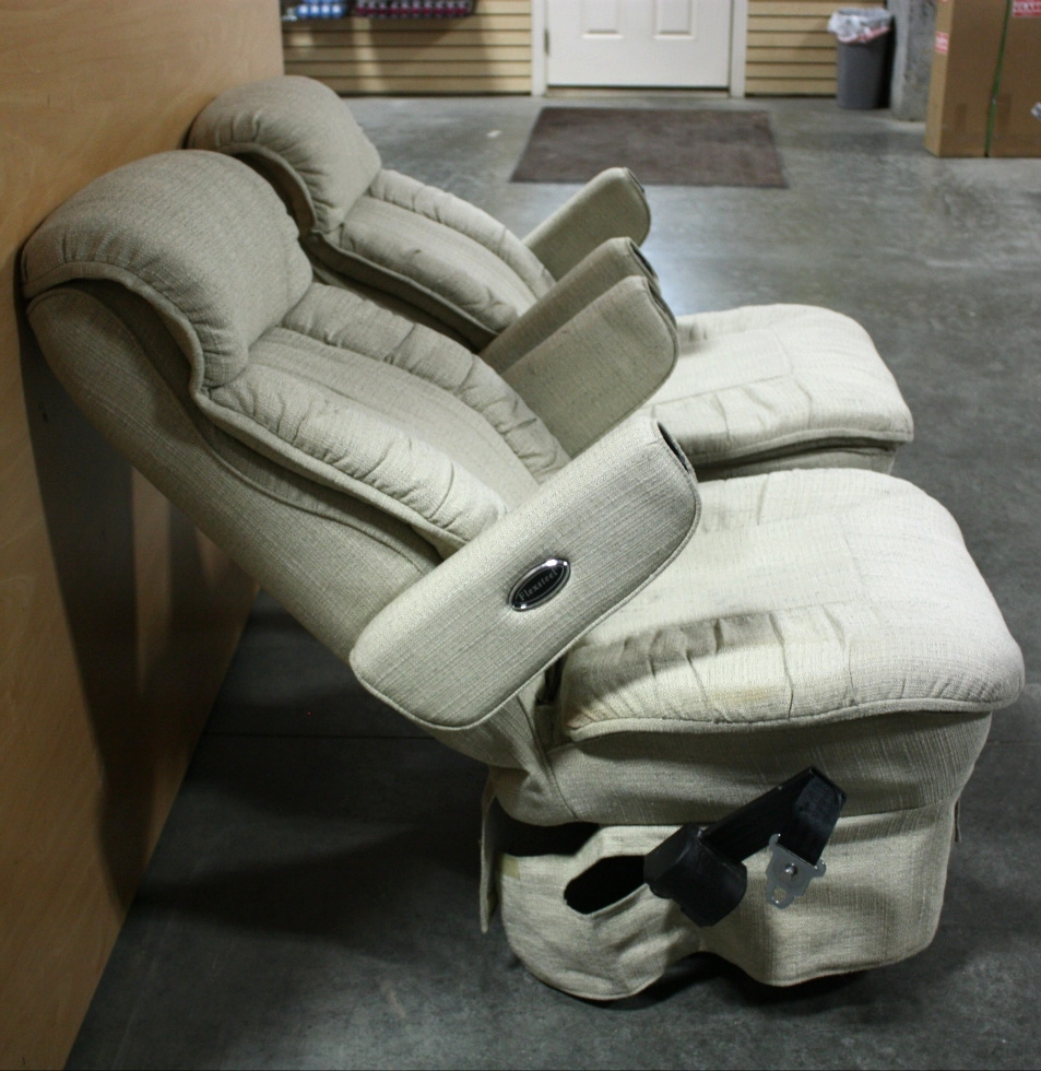 RV Furniture USED FLEXSTEEL CLOTH RV CAPTAIN CHAIR SET FOR