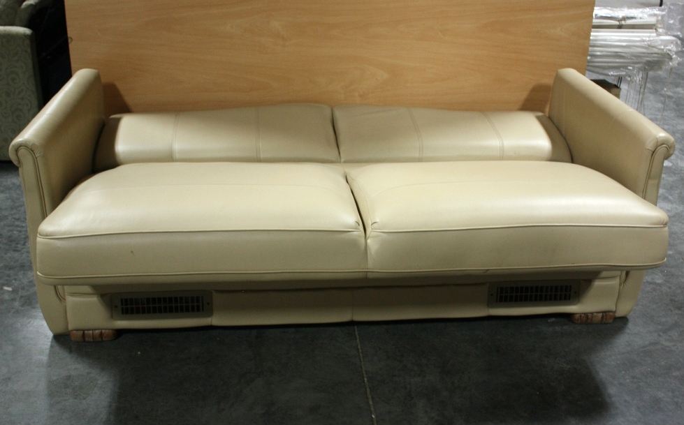 Rv Furniture Used Rv Ultra Leather Jack Knife Sleeper Sofa For Sale Jack Knife Couch Flip Type