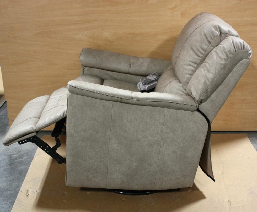 Rv Furniture Rv Leather Vinyl Swivel Glider Recliner For