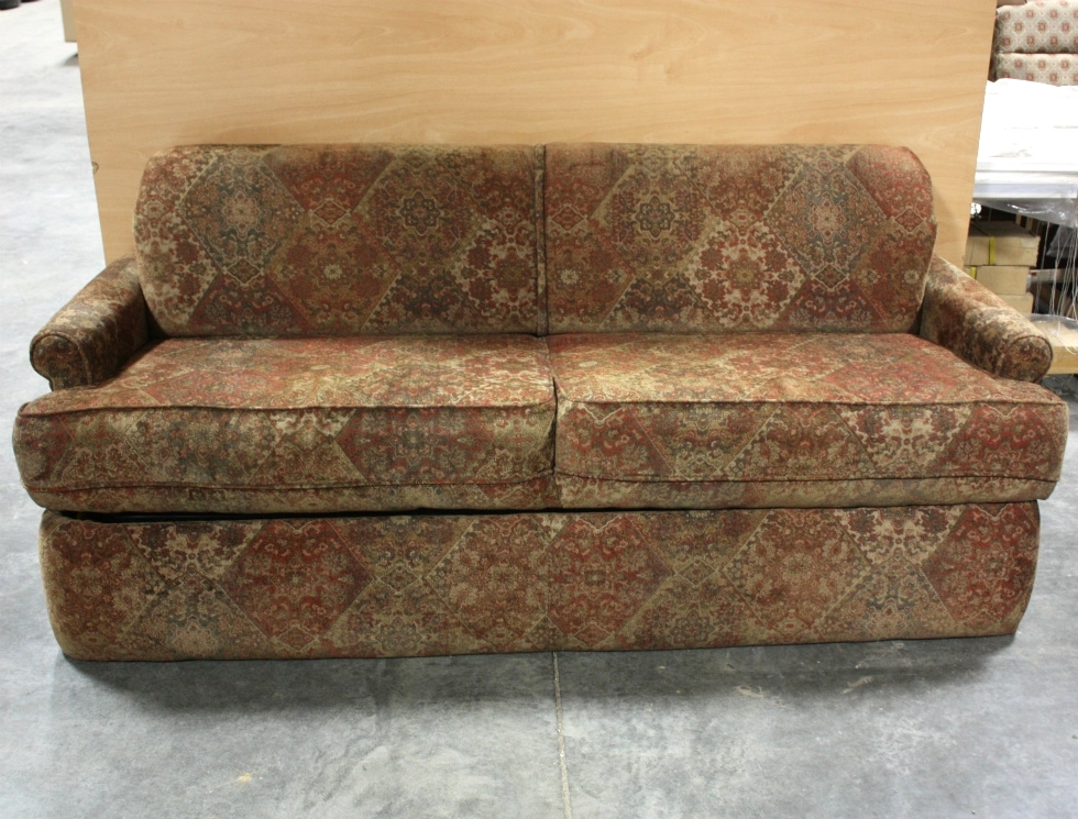 Rv Jackknife Sofa For Sale Rv Furniture Used Rv Ultra Leather Knife Sleeper Sofa