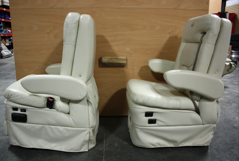RV Furniture USED MONACO SET OF 2 RV CAPTAIN CHAIRS FOR