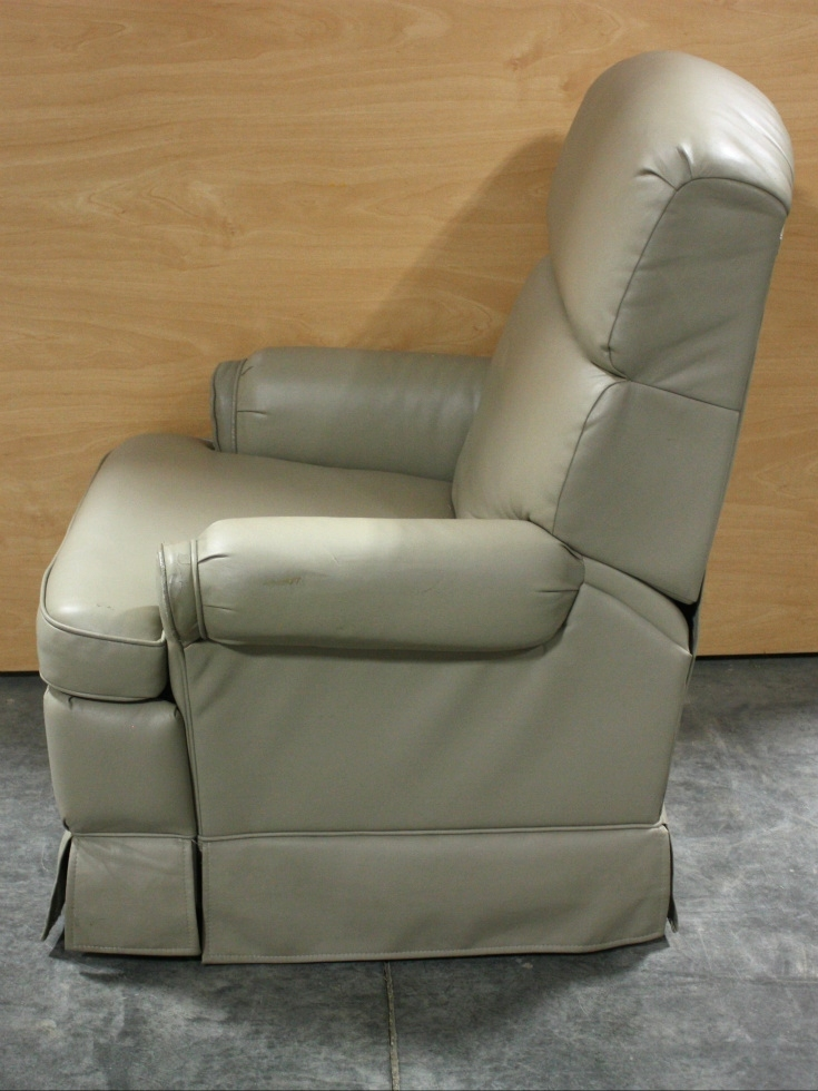 Rv Furniture Used Motorhome Ultra Leather Flexsteel Swivel Recliner For Sale Rv Swivel Recliners