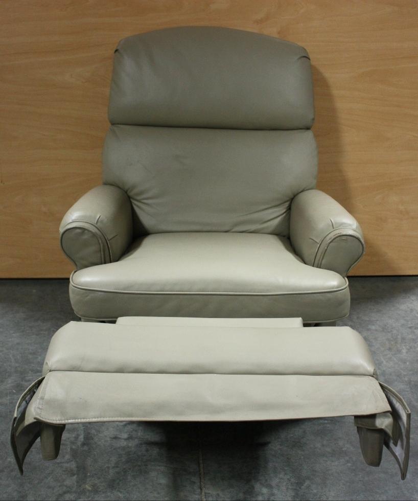 Rv Furniture Used Motorhome Ultra Leather Flexsteel Swivel