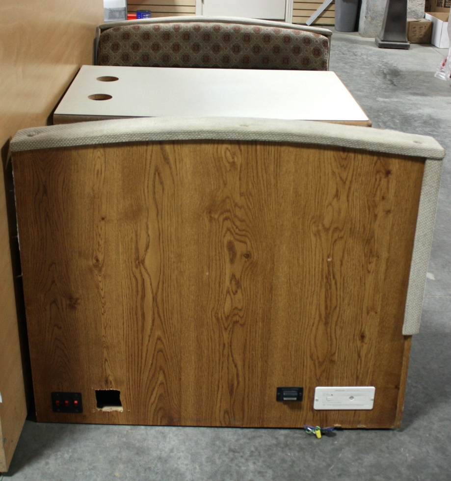 Rv Furniture Used Rv Cloth Dinette Booth For Sale Dinette